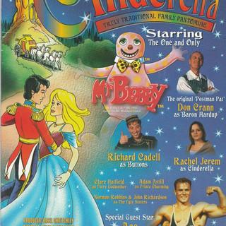 Cinderella 1996 Programme