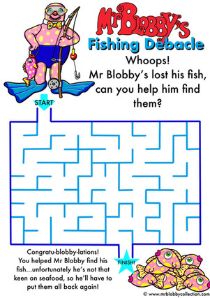 Fishing Debacle Maze