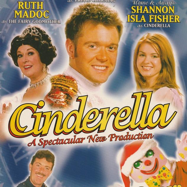 Cinderella 1998 Programme