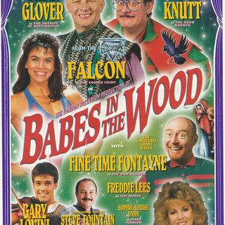 Babes in the Wood 1995 Flyer