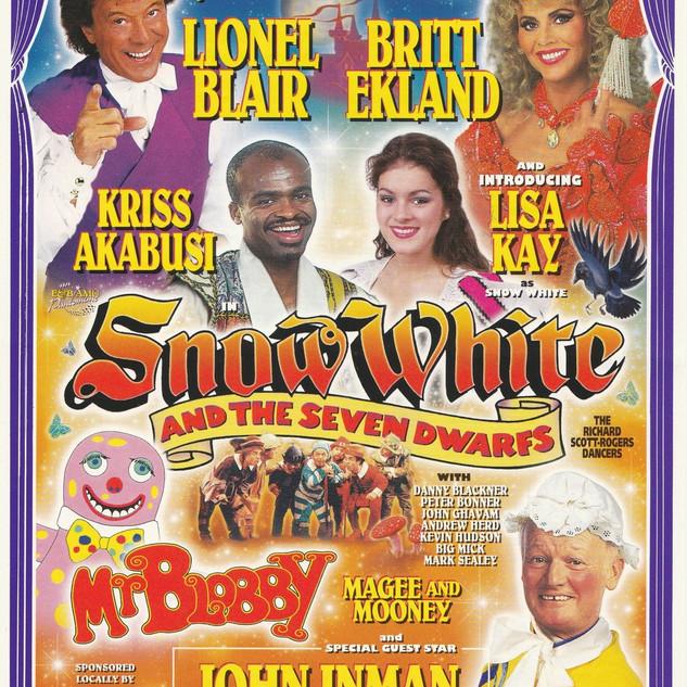 Snow White 1996 Flyer