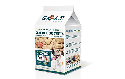 G.O.A.T. Milk Dog Treats - Every treat helps Americans with disabilities!