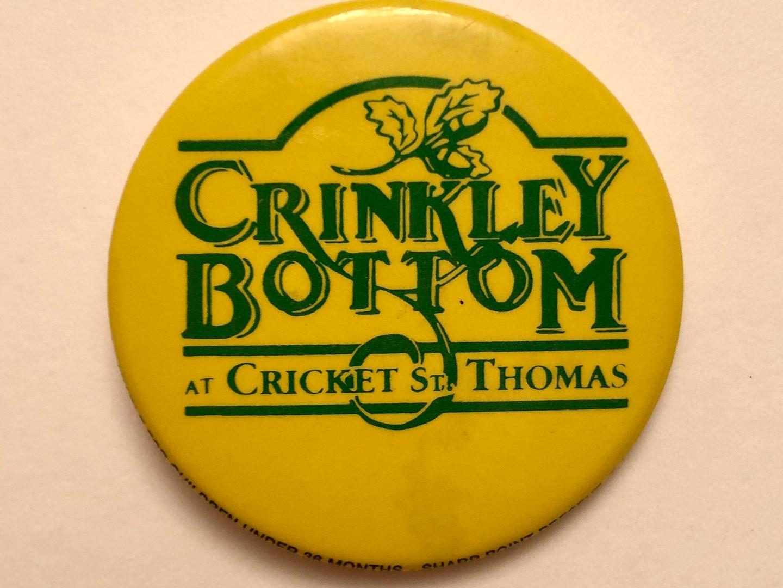 Crinkley Bottom at Cricket St. Thomas Badge