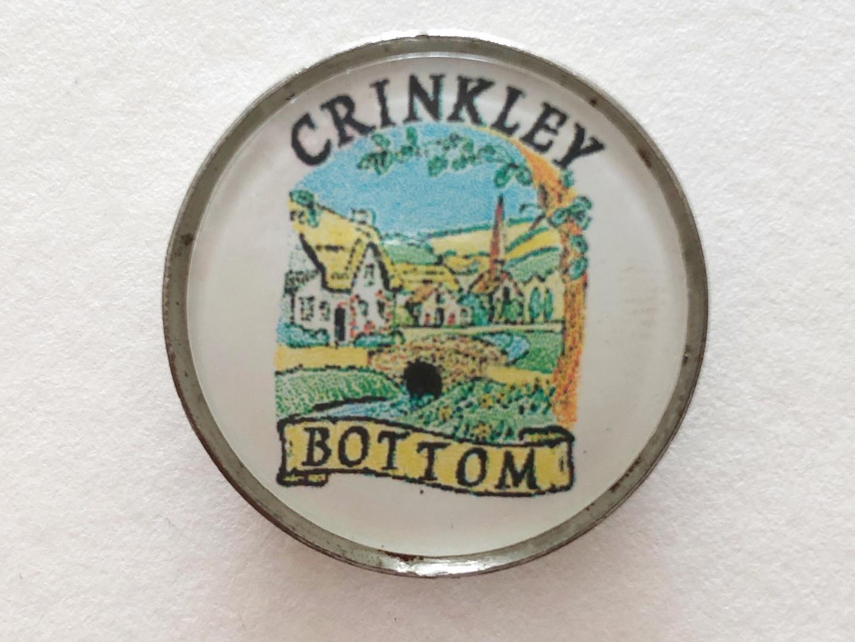 Crinkley Bottom Village Badge
