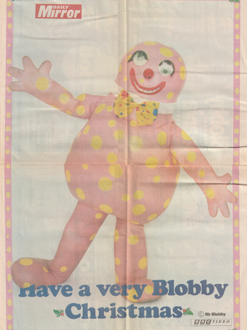 Daily Mirror Christmas Poster