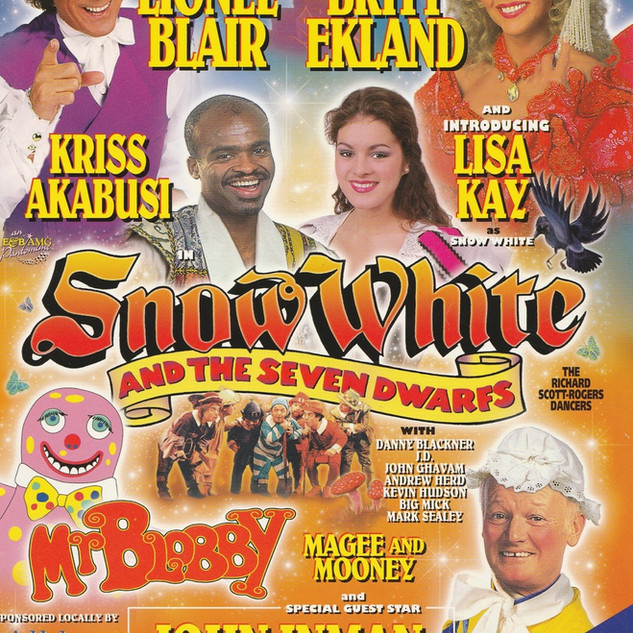Snow White 1996 Programme