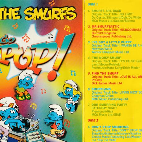 The Smurfs Go Pop! (Cassette)