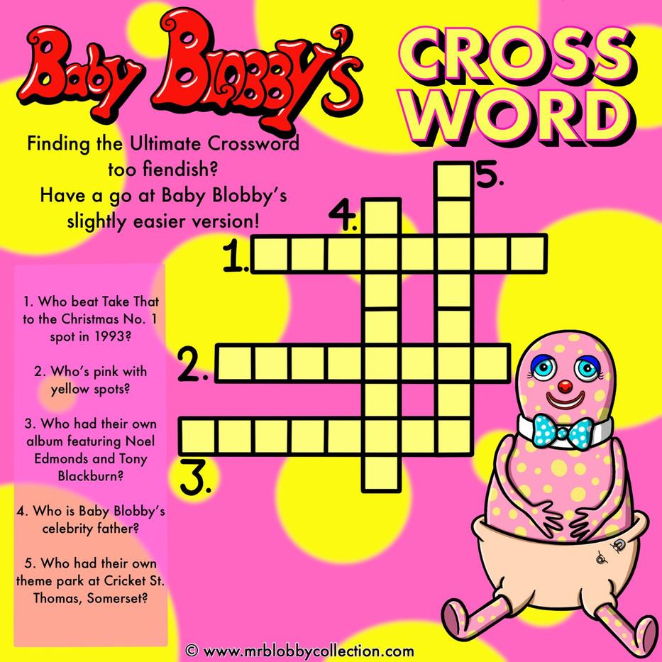 Baby Crossword