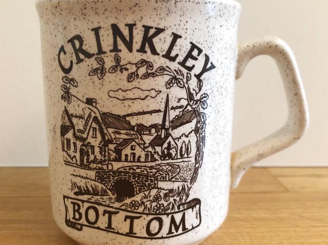Crinkley Bottom Village Mug