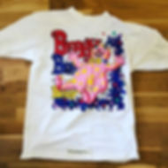Here's a Blobby T-Shirt with a very colo