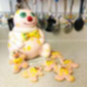 Gingerbread Blobbies!_These took far lon