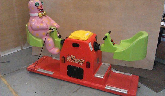 Mr Blobby See-Saw Ride