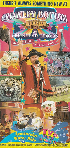 Crinkley Bottom at Cricket St Thomas 1996 Leaflet