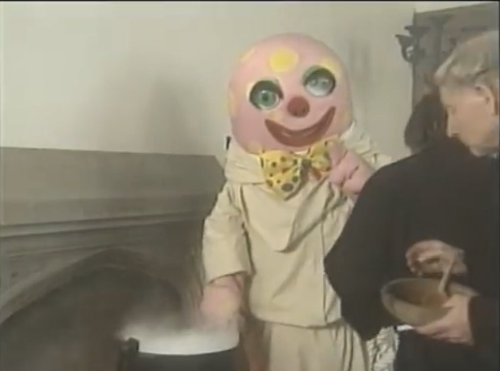 Mr Blobby joins a convent