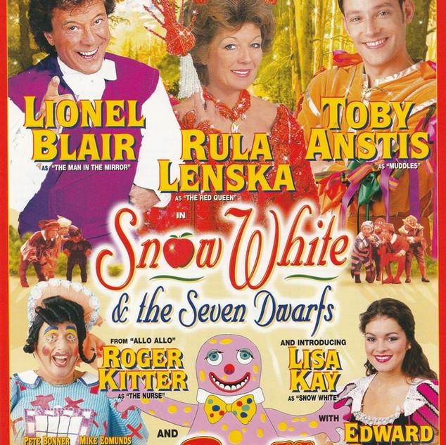 Snow White 1998 Flyer