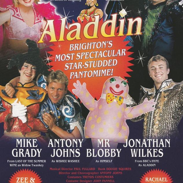 Aladdin 1999 Flyer