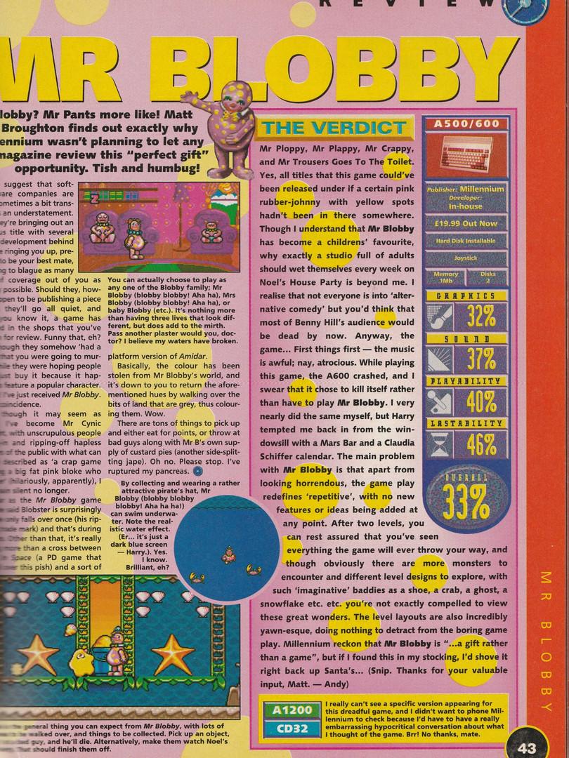 One Amiga 76 (January 1995)