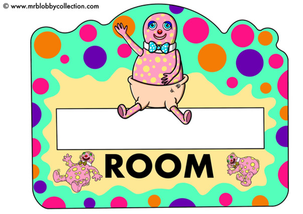Baby Blobby Poster