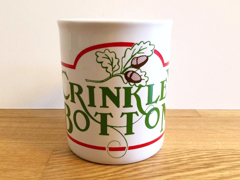 Crinkley Bottom Mug