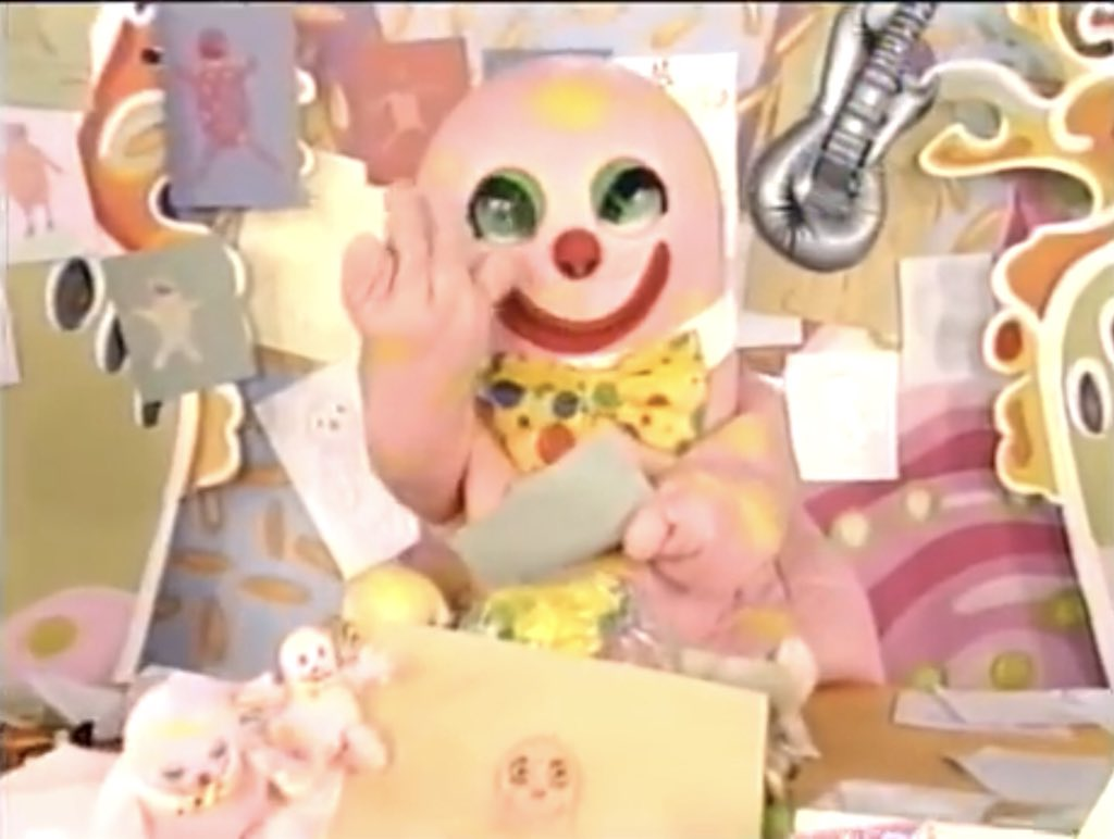 Mr Blobby reads his fanmail