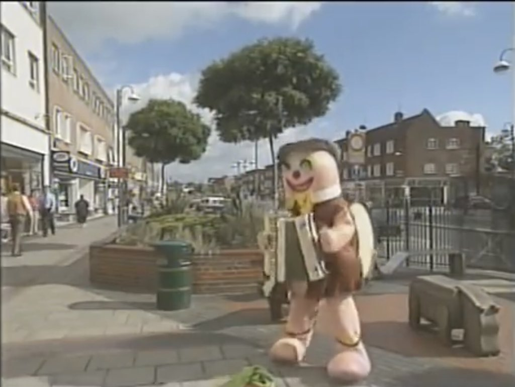 Mr Blobby Busks