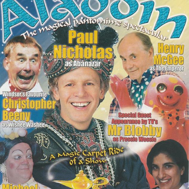 Aladdin 2002 Flyer