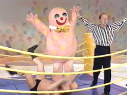 Blobby's boxing debut