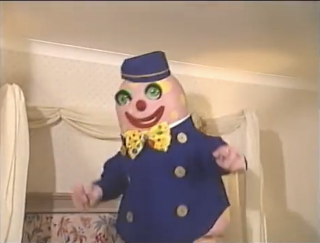 Mr Blobby the Bell Boy