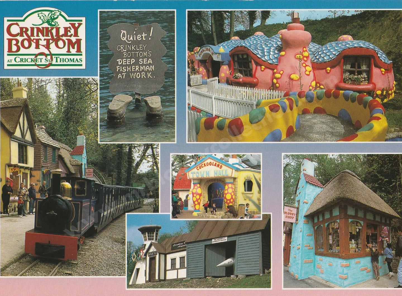 Crinkley Bottom Postcard