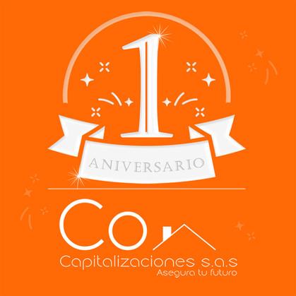 CoCapitalizaciones Primer Aniversario