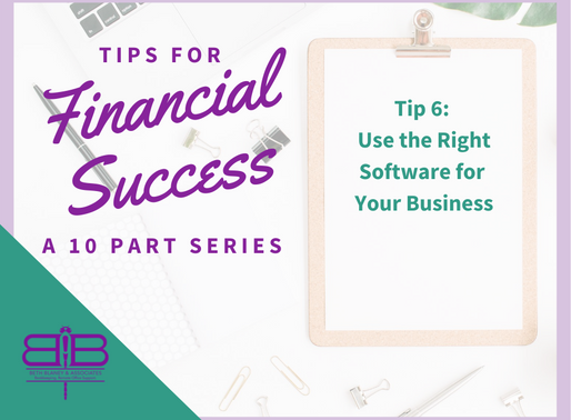 Tip 6: Use the right software