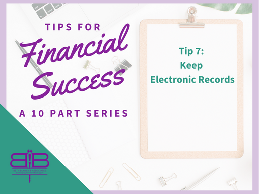Tip 7: Go Electronic