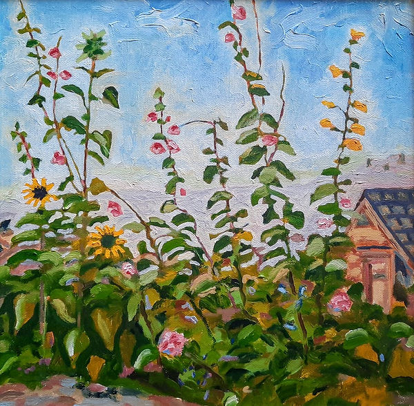 Norris flowers 12x12 oil.jpg