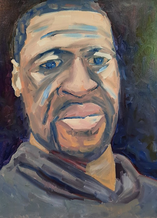 Portrait - George Floyd - 18x24 - oil.jp