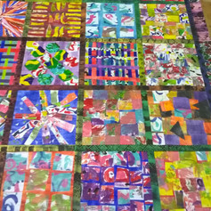 9.Paper patchwork made with learning disabled adults (2019)