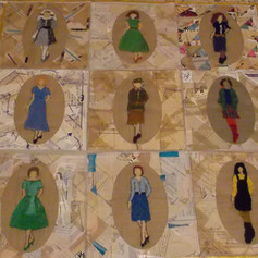 5.Fashion Memory Quilt made with people living with dementia (2019)