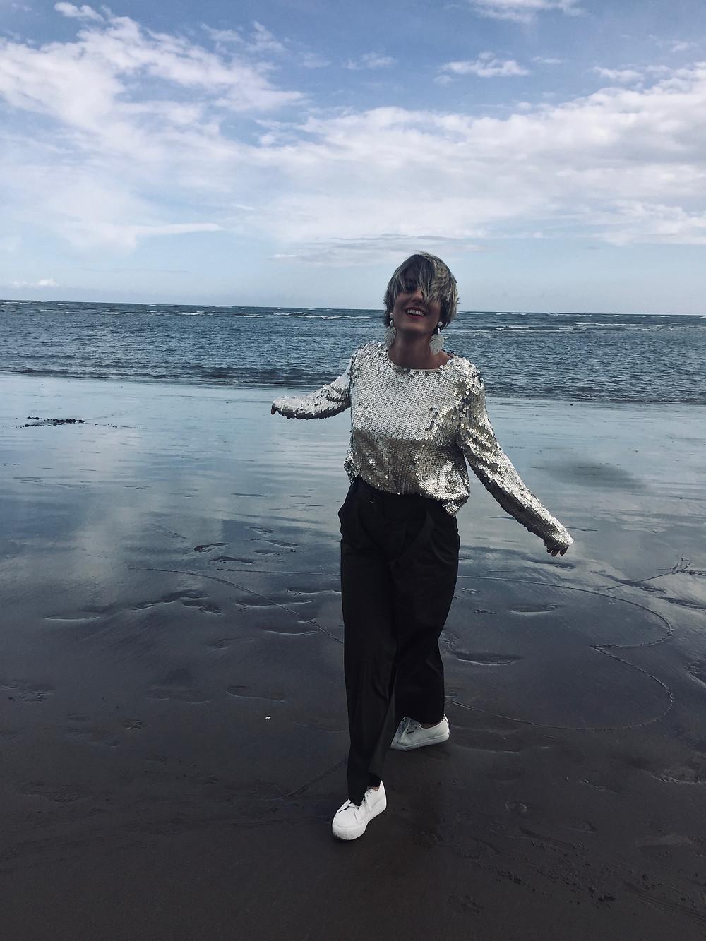 un día casual en la playa de Isla Canela