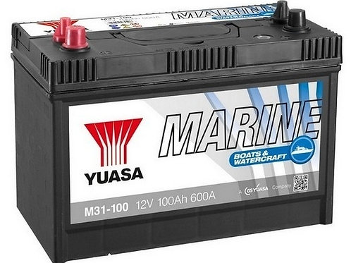 YUASA Akumulators M31-100 Marine 330x173x240 100Ah 600A