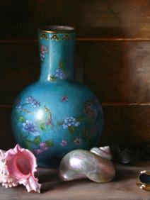 Vase and Seashells