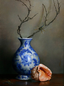 Still Life with Dragonflies