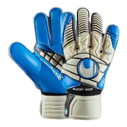 UHLSPORT ELIMINATOR SOFT SF - WHITE/BLUE