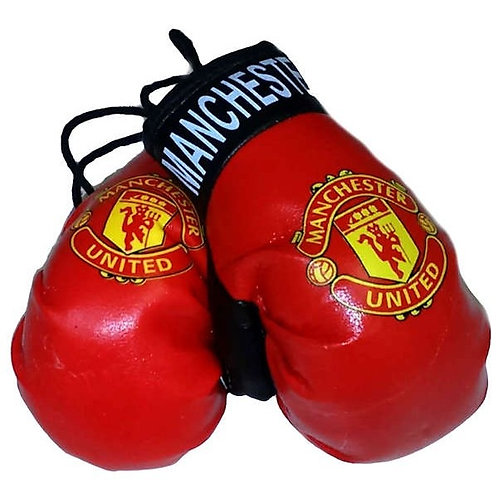 MANCHESTER UNITED CAR BOXING GLOVES