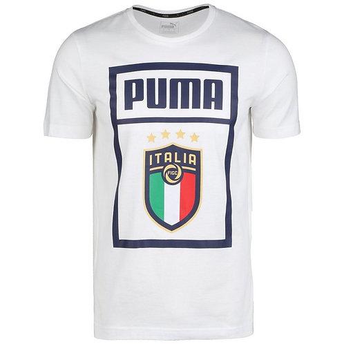 PUMA FIGC DNA TEE - WHITE