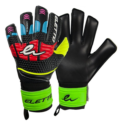 ELETTO GK LEGEND IV FLAT JUNIOR - BLACK/BLUE/RED
