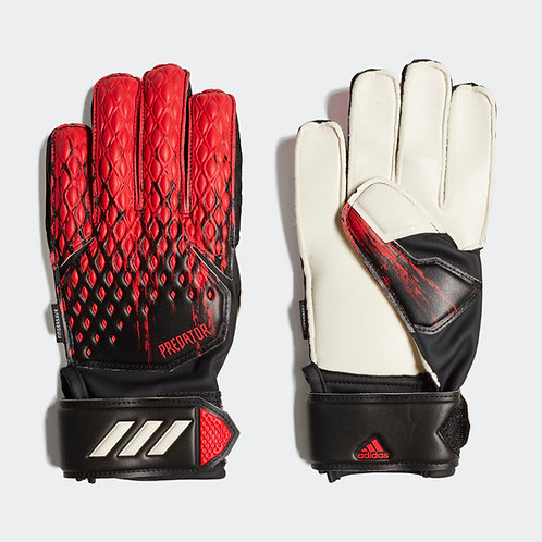 ADIDAS PREDATOR20 MATCH FS GLOVES - BLACK/RED