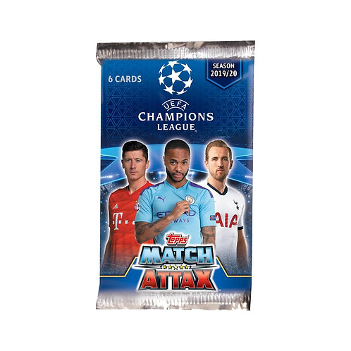 TOPPS MATCH ATTAX CHAMPIONS LEAGUE TRADING CARDS - 2019/20