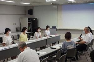 松江市長との「まちかどトーク」