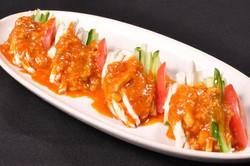 バンバンジー豆腐