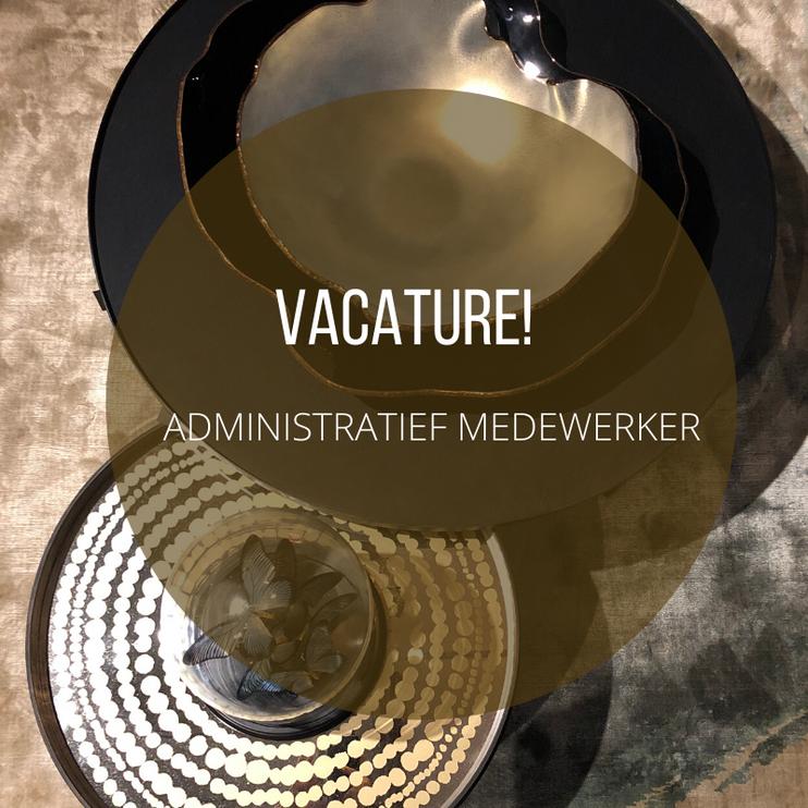 Vacature - Administratief medewerker