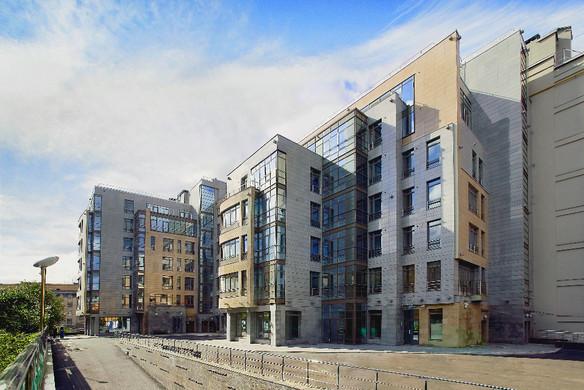 "Residential complex ""Aston Graftio House"". St. Petersburg. Graftio st. 2008.  Жилой комплекс ""Астон Графтио"". Санкт-Петербург. Улица Графтио. 2008."